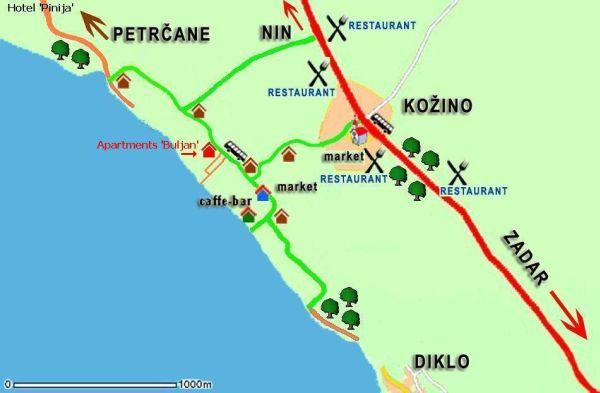 Map Kozino
